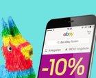 10% Rabatt auf (fast) alles über die eBay App