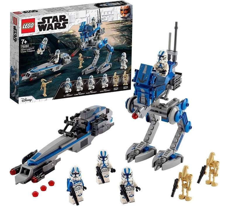 """Lego Star Wars """"75280"""" Clone Troopers der 501. Legion für 22,99€ (statt 29€) - Thalia Club!"""