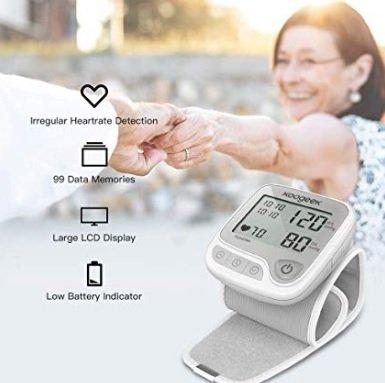 Koogeek Smart & Bluetooth Blutdruckmesser mit Sprachansagen für 11,99€ inkl. Versand (statt 26€)