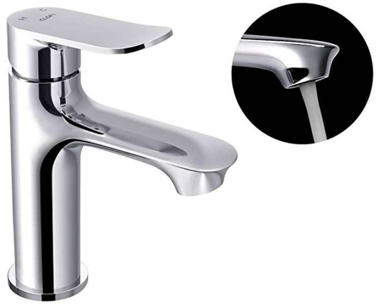 CLOFY Waschtischarmatur - Wasserhahn verchromt für 14€ inkl. Versand
