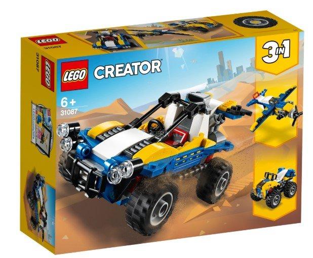 LEGO Creator 3 in 1 Sets (31087, 31101, 31088, 31092) z.B. Strandbuggy für 9,99€ inkl. Versand (statt 13€)
