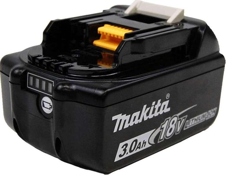 Makita Akku BL1830B 18V 3Ah für 27,34€ inkl. Versand (statt 36€)