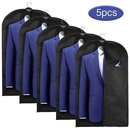 5er Pack Esonmus Anzugsäcke bzw. Kleiderschutz ab 13,99€ inkl. Prime Versand