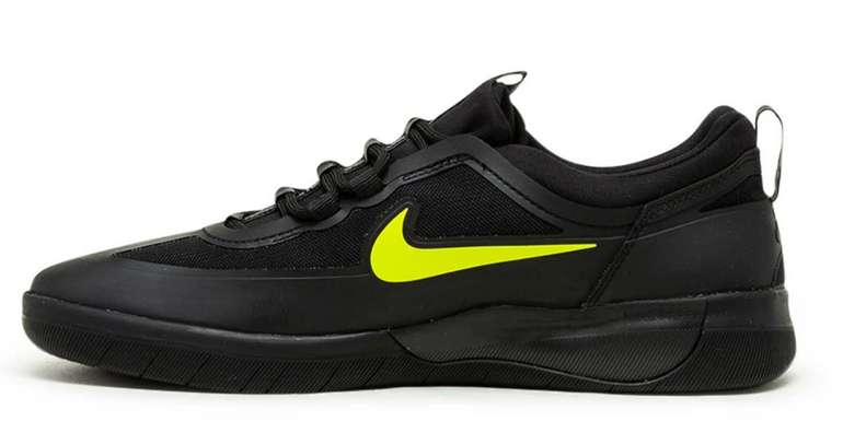 Nike SB Nyjah Free 2 Skateboardschuh in schwarz für 56,97€ inkl. Versand (statt 95€)
