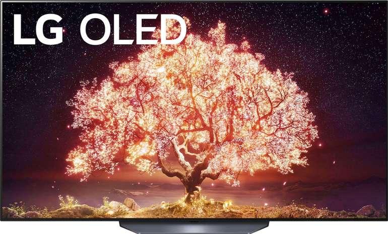 LG OLED65B19LA OLED-Fernseher mit 65 Zoll (4K Ultra HD, Smart-TV, HDMI 2.1) für 1.474,10€ inkl. Versand