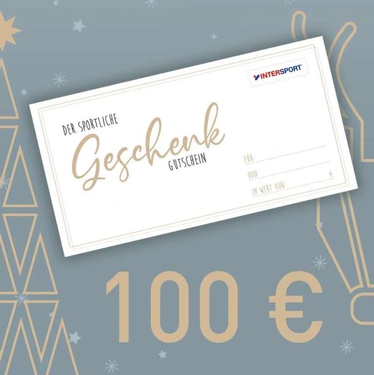 100€ Intersport Gutscheinkarte (Digital) für 85€ inkl. Versand