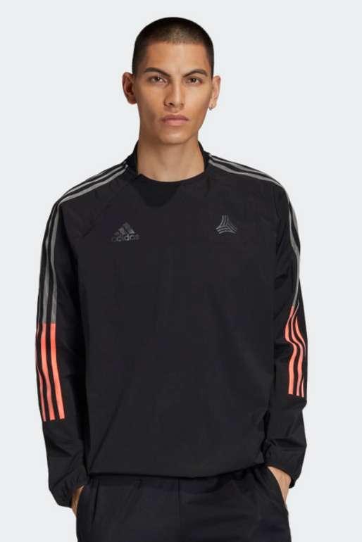 adidas Tan Tech Advanced Herren Oberteil in schwarz für 33,98€inkl. Versand (statt 42€) - APP!