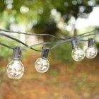Tomshine Outdoor Lichterkette mit 25 Birnen (7,26m) für 14,99€ inkl. VSK