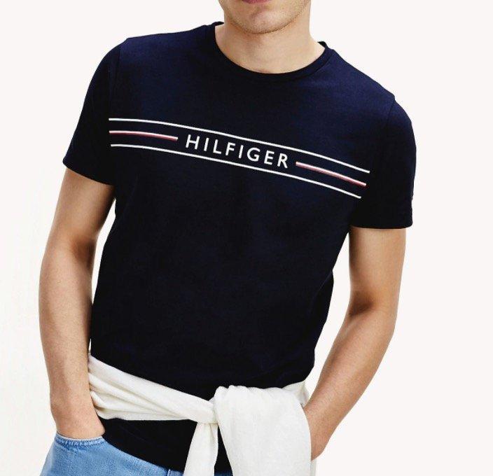 Tommy Hilfiger Sale: Bis -50% Rabatt + 10% Newsletter - z.B. Herren Logo T-Shirt aus Bio-Baumwolle für 24,30€
