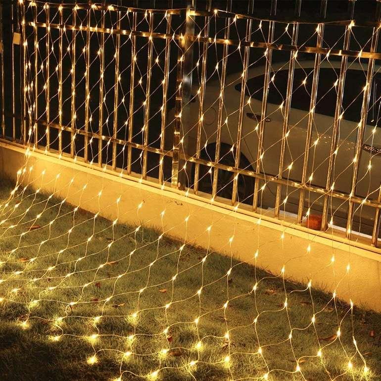-30% Rabatt auf verschiedene Vingo LED Lichternetze mit 8 Modi, z.B. 3 x 2 m für 9,79€