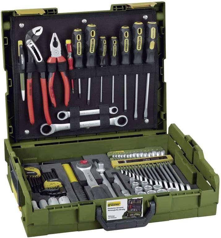 Proxxon Handwerker-Universal-Werkzeugkoffer (L-BOXX-System L 102, 69-teiliges Werkzeug-Set) für 196,73€