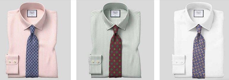 3er Pack Charles Tyrwhitt Herren Hemden 3