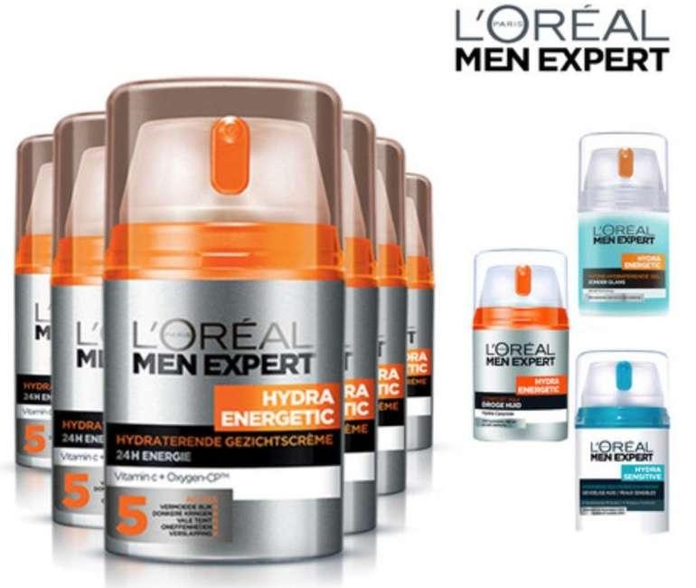 6er Pack L'Oréal Paris Men Expert Hautpflege Sets für Männer nur 35,90€ inkl. Versand (statt 48€)