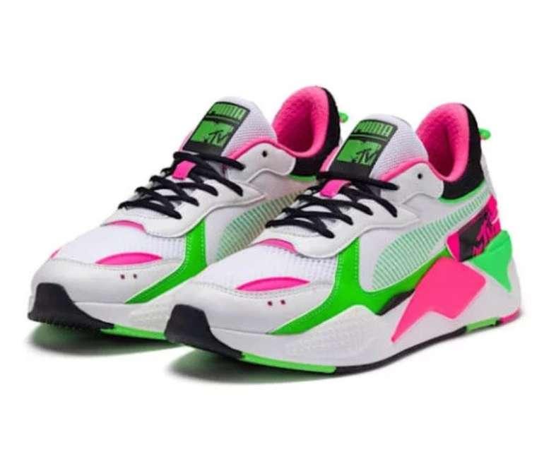 Puma Sale bis -50% Rabatt + 20% Extra, z.B. Puma x MTV RS-X Tracks Bold Sneaker für 76,35€ (statt 95€)