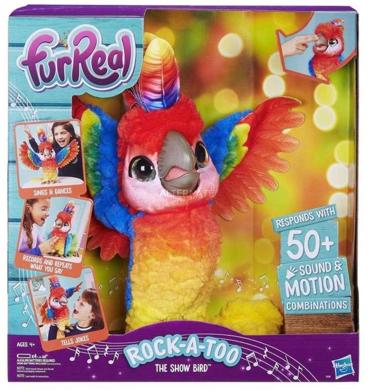 Hasbro FurReal Pauli - mein singender Plappagei (Musikspielzeug) für 37,98€ inkl. Versand (statt 61€)