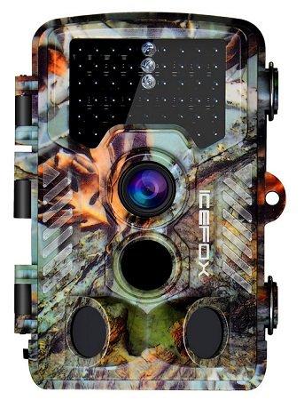 Icefox - Wildkamera mit 20MP, 1080P Videos & Nachtsichtmodus für 64,99€