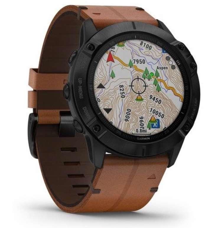 """Garmin Herren Smartwatch Fenix 6x """"40-41-5535"""" für 549,99€ inkl. Versand (statt 749€)"""