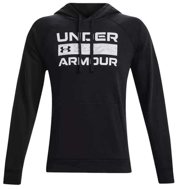 Under Armour Kapuzenpullover Rival Fleece Signature für 32,95€ inkl. Versand (statt 50€)
