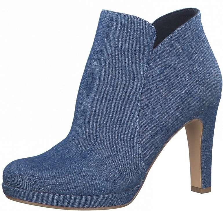 Tamaris High-Heel-Stiefelette im Jeans-Look für 34,44€ inkl. Versand (statt 41€)