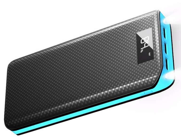X-Dragon Powerbank mit 20.000mAh und 3 USB-Ports für 13,99€ inkl. Prime