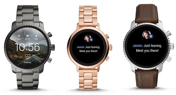 Fossil 30% Rabatt auf 4. Gen Smartwatches
