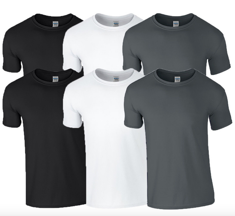 6er-Pack Gildan Rundhals T-Shirts für 18,95€ inkl. Versand (statt 22€)