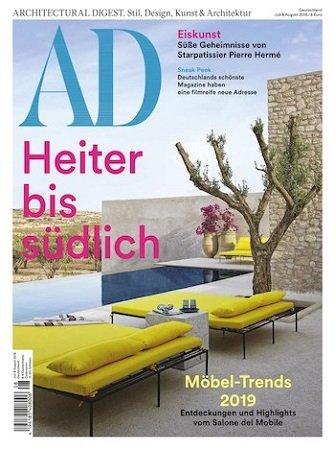 Architectural Digest Jahresabo für 68€ + 60€ Amazon Gutschein
