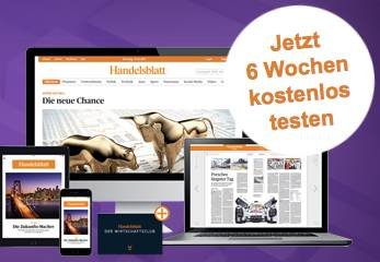 "6 Wochen ""Handelsblatt"" als E-Paper gratis"