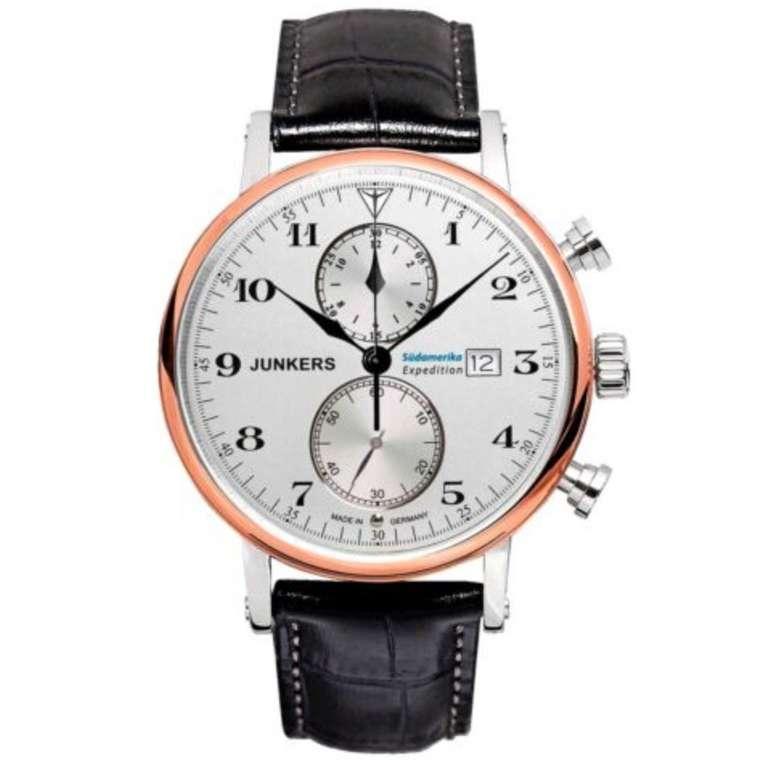 Junkers Herren-Uhr 6586 Expedition Südamerika Chronograph für 161,60€ (statt 269€)
