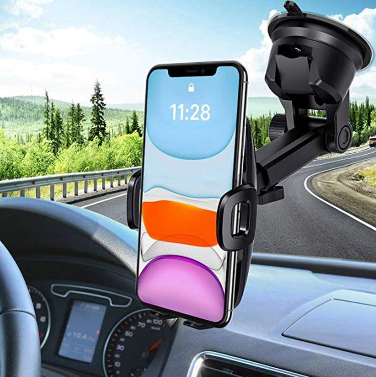 Mpow KFZ Handyhalterung mit 360° Drehung für 6,99€ inkl. VSK (Prime)