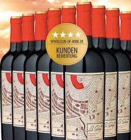 12er-Vorratspaket 2016er La Granja 360° Rotwein für 39,60€ inkl. Versand