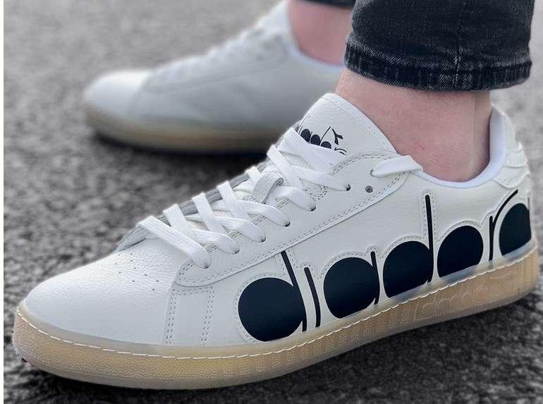 Diadora Game Bolder Herren Sneaker (in Weiß) für 15,75€ zzgl. Versand (statt 43€)