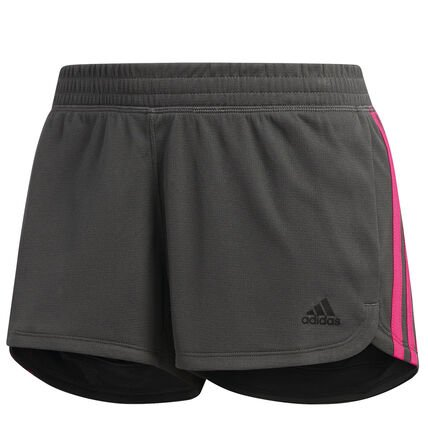 Adidas Damen Shorts 3S in grau/pink für 9,94€ inkl. Versand (statt 26€)