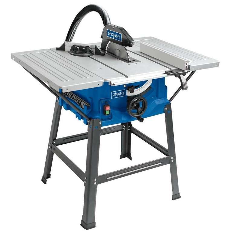Scheppach Tischkreissäge HS100S für 99,99€ inkl. Versand (statt 110€)