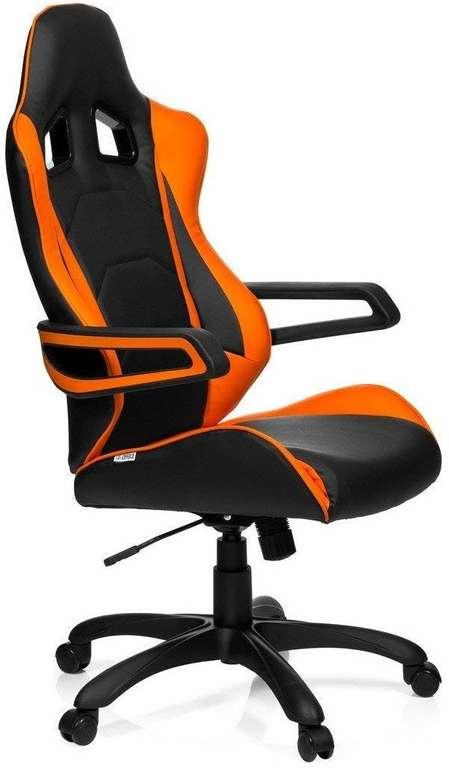 HJH Office Racer Pro I Gaming-Stuhl in Schwarz/Orange für 99,45€ (statt 160€)