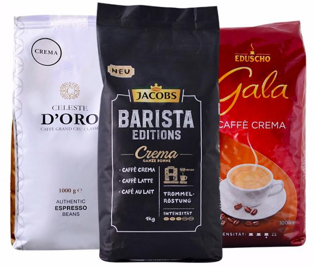 Exklusives Kaffeepaket: 3kg Kaffeebohnen Crema für 29,99€ inkl. Versand