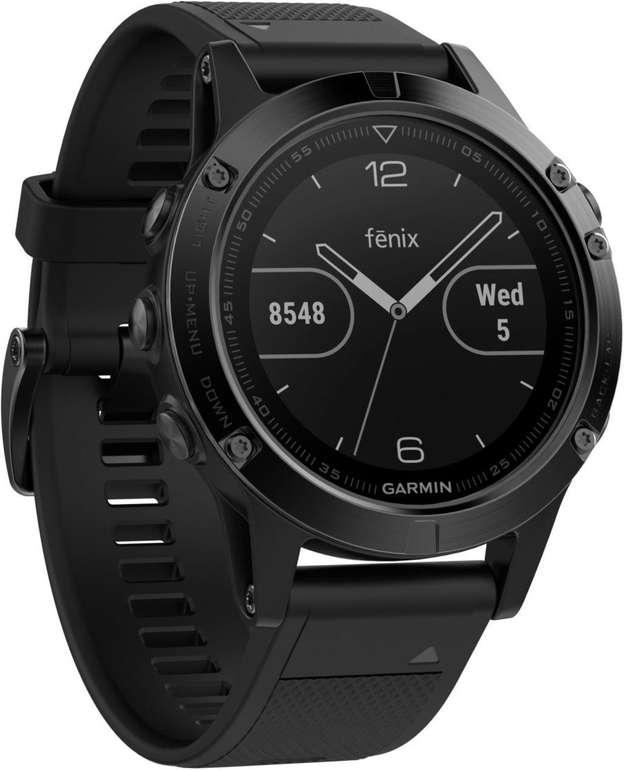 Schnell? Garmin Fenix 5 Smartwatch, ca. 240 mm für 236,62€ inkl. Versand (statt 385€)