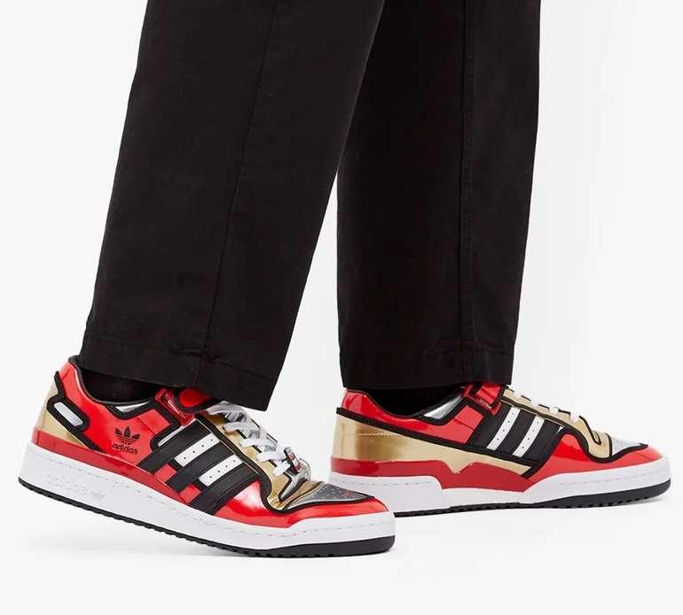 Adidas Forum x Simpsons Herren Sneaker für 79,99€ inkl. Versand (statt 88€) - Größen: 40 bis 42!