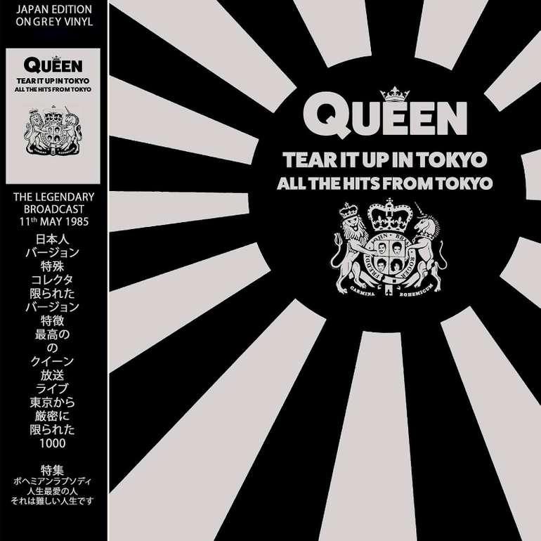 Queen - Tear It Up In Tokyo Limited Edition Grey LP (Vinyl) für 15,48€ (statt 26€)