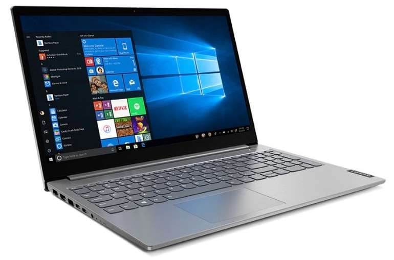 "Lenovo ThinkBook 15"" im Angebot, z.B. 8GB RAM & 256GB SSD für 619,95€"
