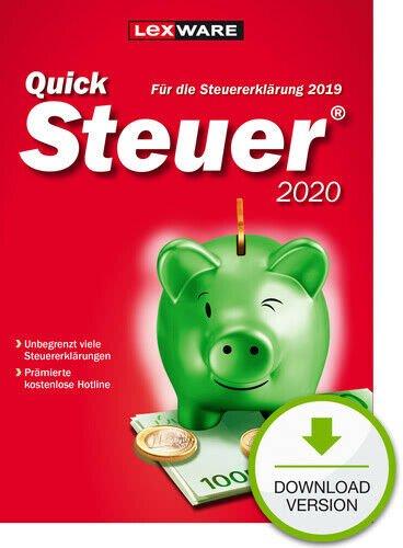 Lexware QuickSteuer 2020 für das Steuerjahr 2019 nur 9,89€ inkl. Versand (statt 15€)