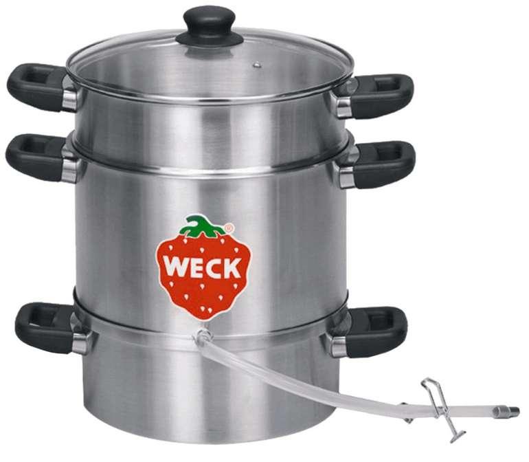 Weck WSG 28E Elektro-Entsafter 1500 Watt mit Schlauchgarnitur für 29,95€ inkl. Versand (statt 69€)