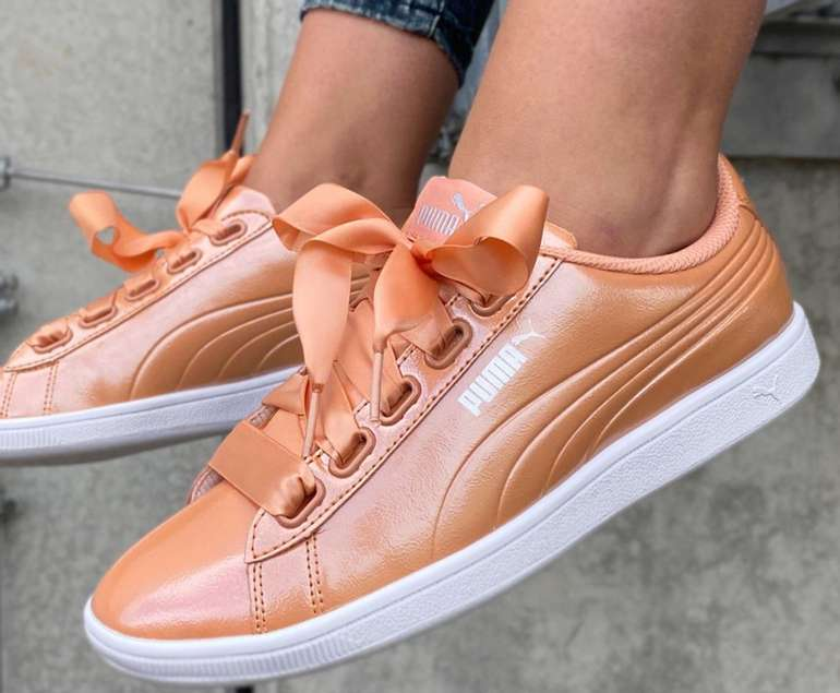 Puma Vikky Ribbon Satin Damen Sneaker für 11,95€ inkl. Versand (statt 33€)