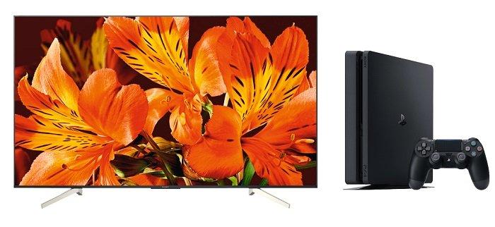 Sony KD-55XF8505 – 55″ UHD-Fernseher + PS4 500GB Black für 897€ (statt 1.100€)