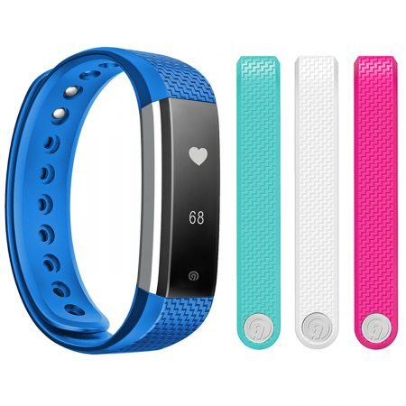 Ninetec Smartfit F3HR Fitnesstracker + 3 Ersatzbänder für 19,99€ inkl. Versand