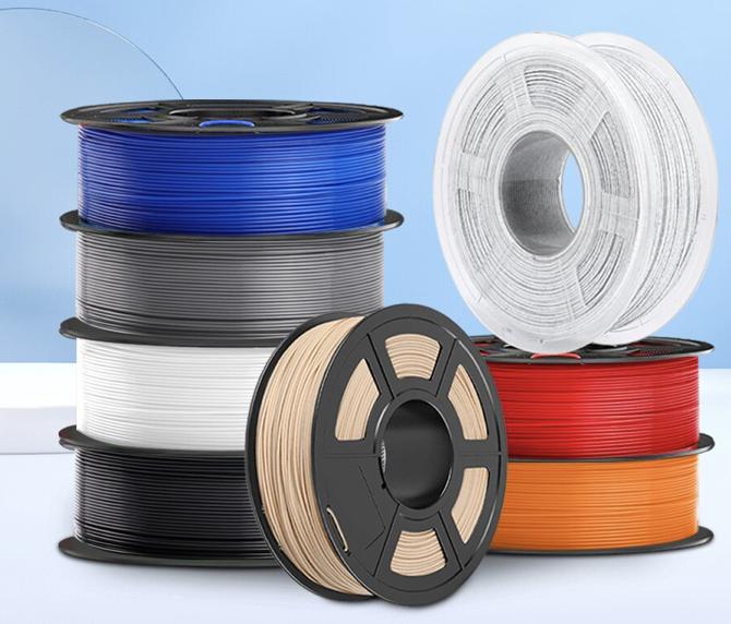 New Rainbow 2 KG PLA PETG Filament ab 16,25€ inkl. Versand (statt 35€)