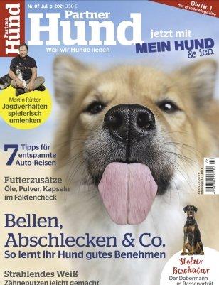 """Jahresabo der Zeitschrift """"Partner Hund"""" für 23,40€ (statt 46,80€)"""