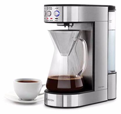 Klarstein Perfect Brew Filter-Kaffeemaschine mit rotierendem Brühkopf für 64,99€