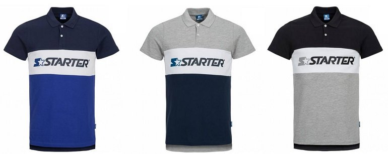 STARTER Herren Polo-Shirt Impulse