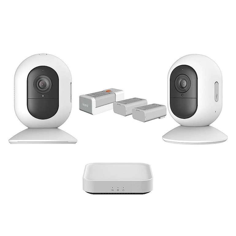 Kami Sicherheits Set mit 2 kabellosen Mini Kameras + Gateway für 199€ inkl. VSK